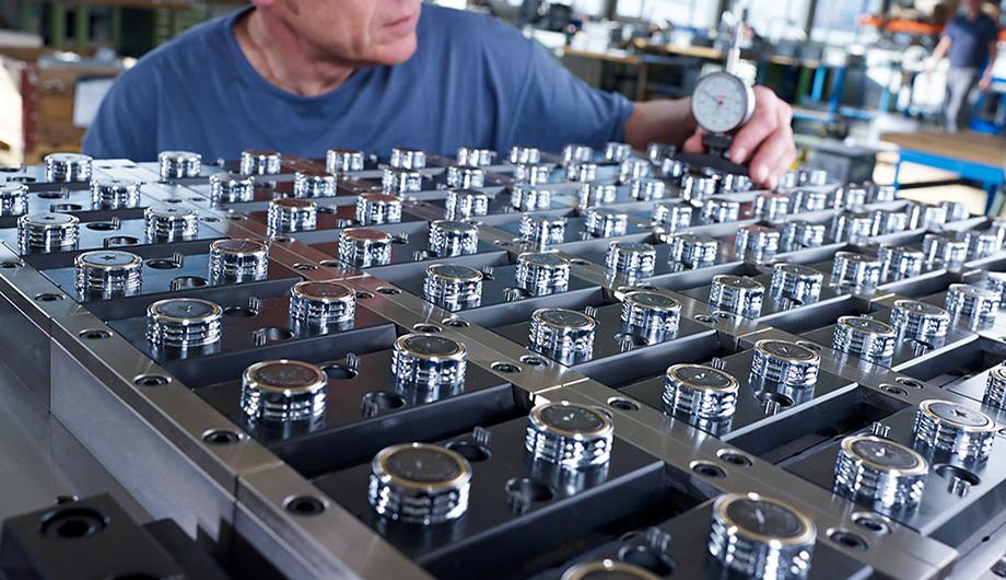 molding tool of Corvaglia Mould AG